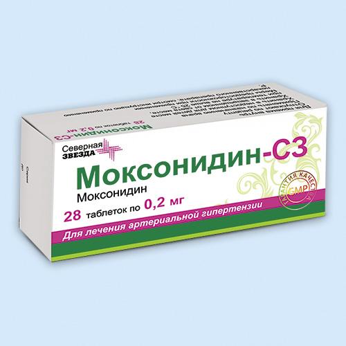 Моксонидин-Акрихин - официальная инструкция по применению ...