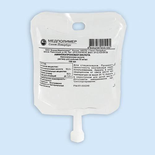 Аминокапроновая кислота инструкция по применению