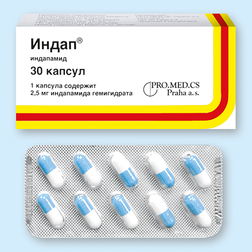 индапамид инструкция по применению таблетки