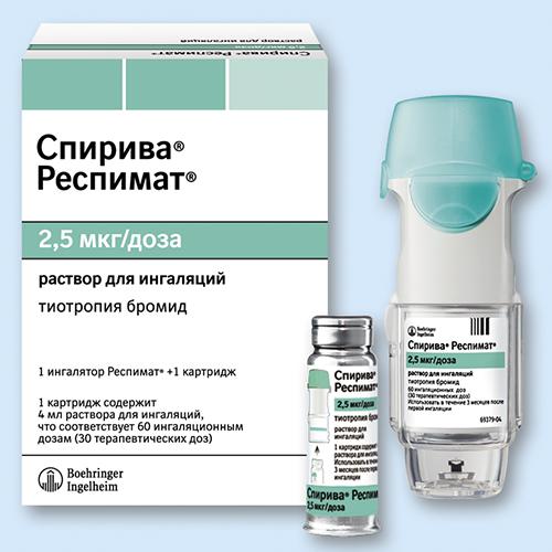 тиотропия бромид инструкция по применению